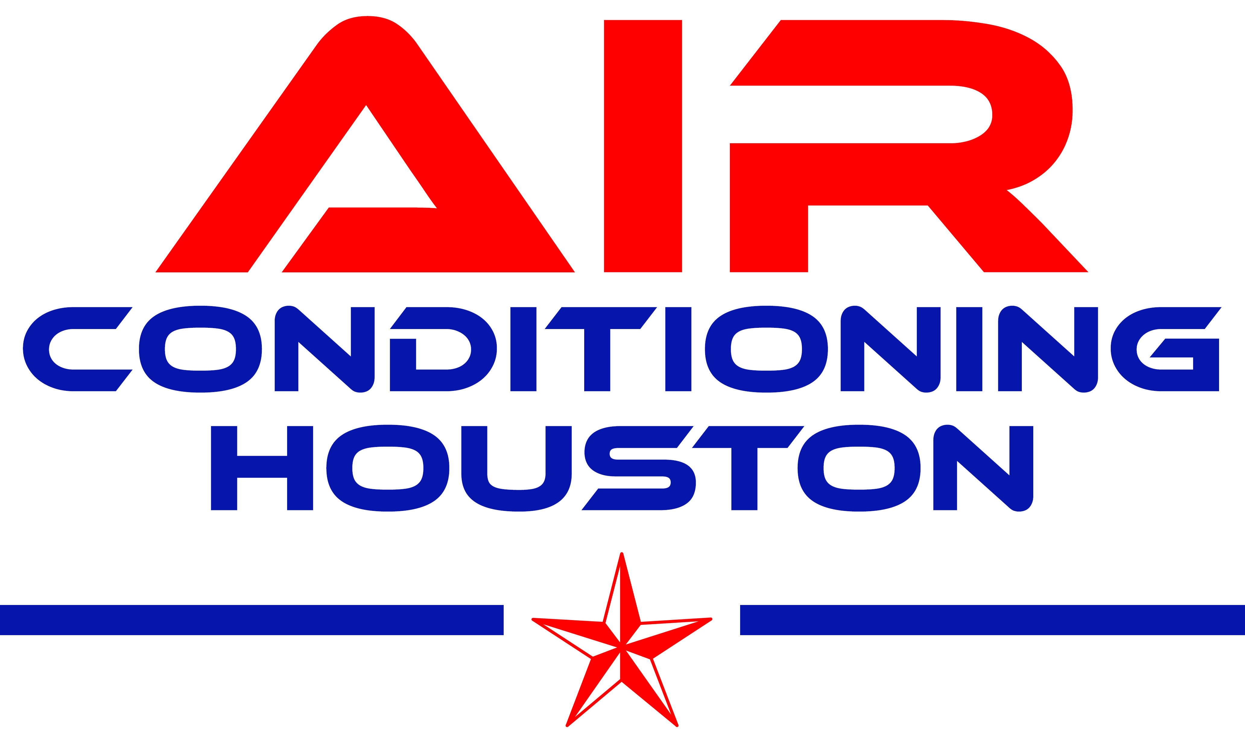 Air Conditioning Houston Premier Hvac Company For New Residential Drawing Logo